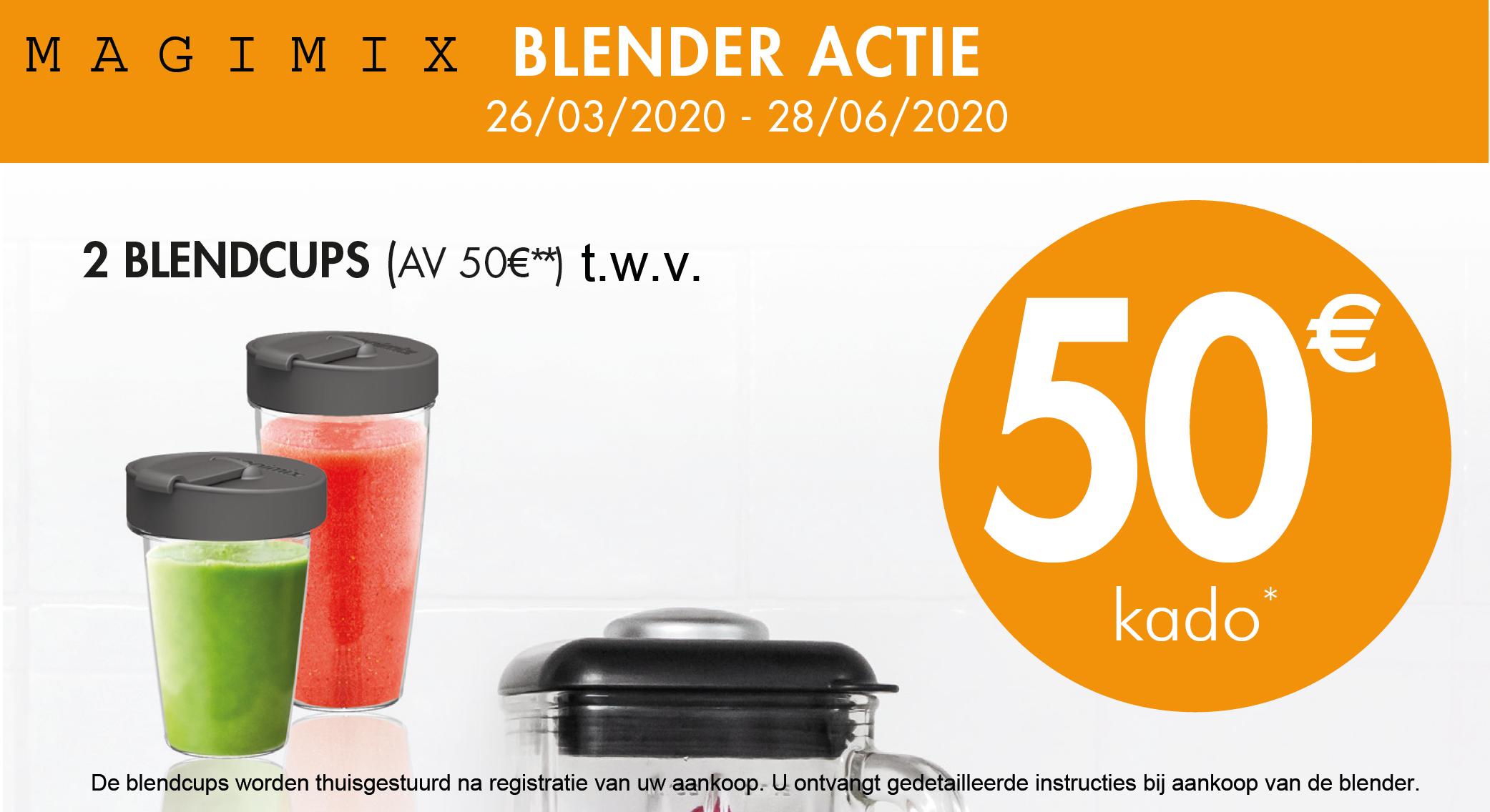 Magimix Blender aktie promotie